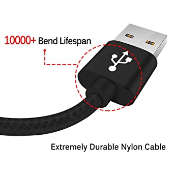 Amazon.com: BRG – Paquete de 3 (1ft, 4 ft, 6 ft) Cable de ...
