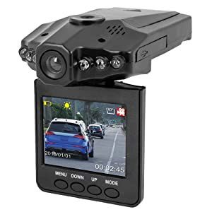 Car Cam Buddy - 2.5 inch HD Camera Recorder Car Dash Cam with Endless Loop Recording
