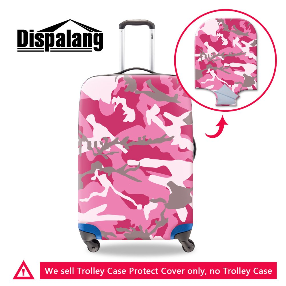 86f7069d88 good Dispalang Camouflage Print Luggage Cover Cool Suitcase Protector Cover  Travel Accessories