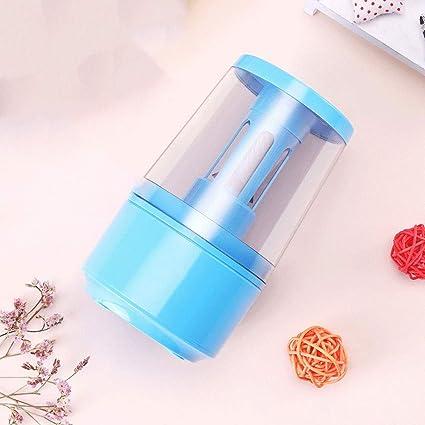 Afilador De Lápices Eléctrico, Sacapuntas De Lápiz Multifunción USB/Batería, Caja De Chip De Lápiz De Gran Capacidad, Fácil De Limpiar (Color : Blue): Amazon.es: Electrónica