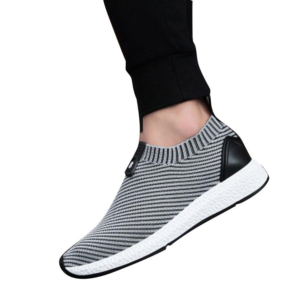 Juleya Herren Damen Turnschuhe Mesh Sneaker Freizeitschuhe Laufschuhe Unisex Sportschuhe Arbeitsschuhe Leicht Atmungsaktiv Elastizität 4 Farben 39-44 C180426NX03-J
