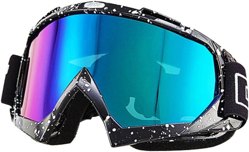 Nicole Knupfer Skibrille Motorradbrillen Schutzbrille,Winter Schnee Sport Snowboardbrille,Skibrille F/ür Damen Und Herren Jungen Und M/ädchen