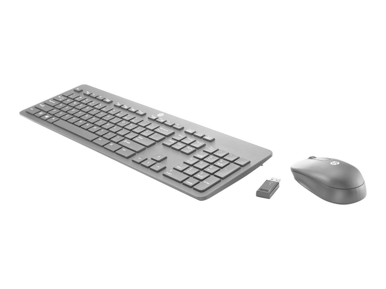 HP Wireless Slim Desktop Clavier USB