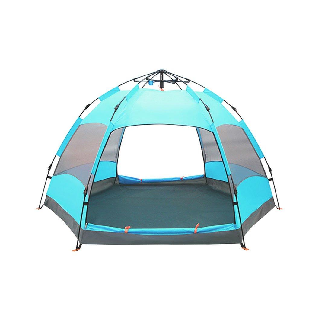 Zelt, automatisches Hexagon verdicken regendichtes Feld im Freiencamping
