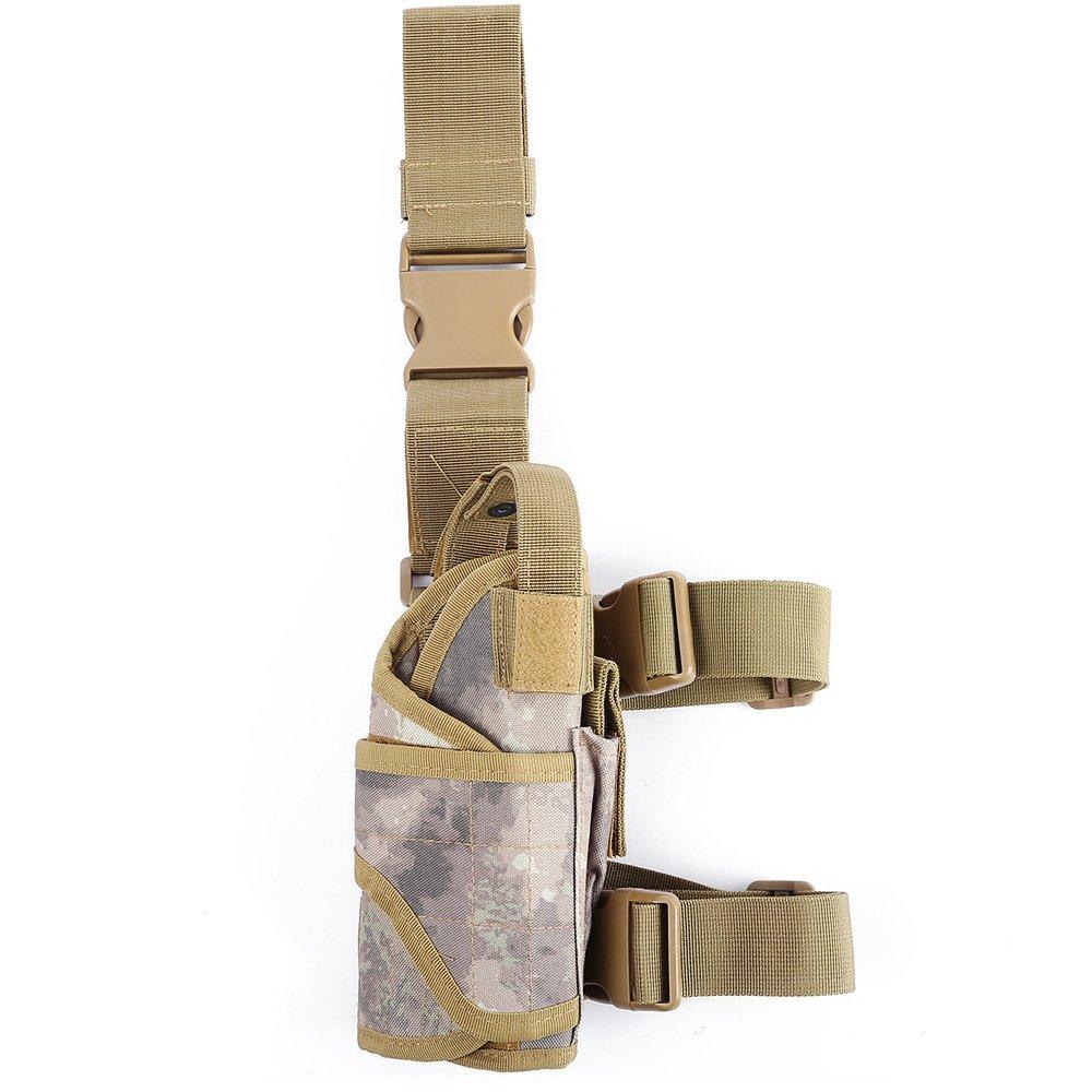 TrifyCore Bolso Militar Ajustable de la Caza del Bolso de la Cintura del Camuflaje de la pistolera