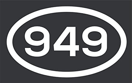 949 area code california