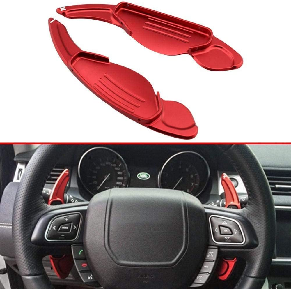 Steering Wheel Shift Paddle Blade Shifter Extension for Jaguar XF XJ F-Pace F-Type Land Rover Evoque Freelander 2 Discoverer 4 5 Range Rover Sport accessories DY