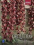 capa de Orquídeas Cymbidium - Volume 7. Coleção Rubi