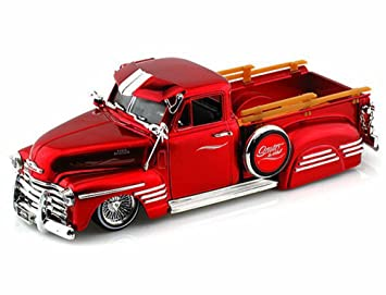 1951 Chevy Pickup Truck Red