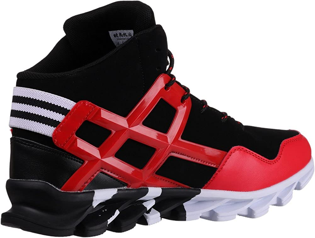JOOMRA Mens Stylish Sneakers High Top Athletic-Inspired Shoes