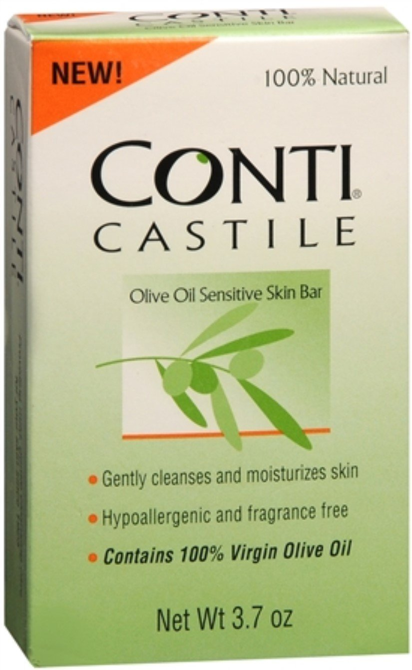 Conti Castile Olive Oil Soap 4 oz Pack of 10