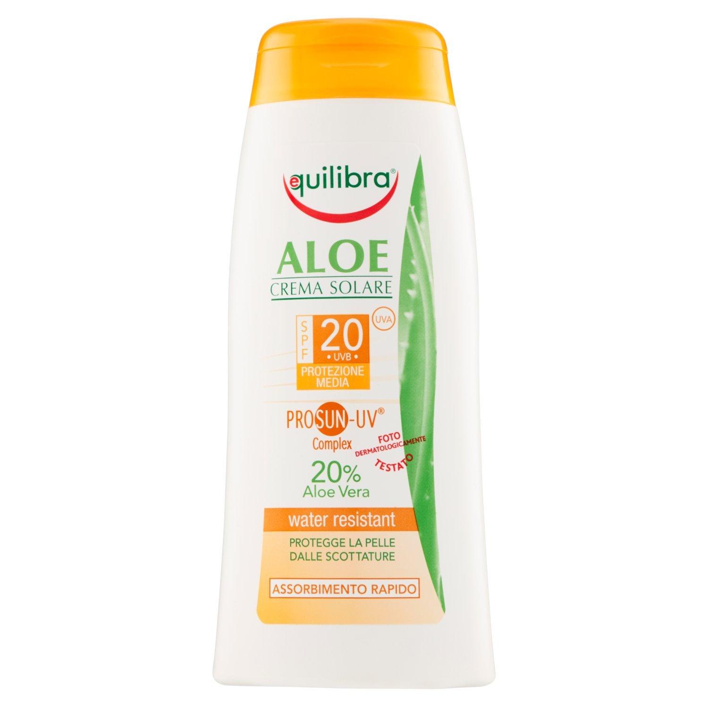 Aloe Sun Cream Spf 20 200 Ml EQUILIBRIA CSP20