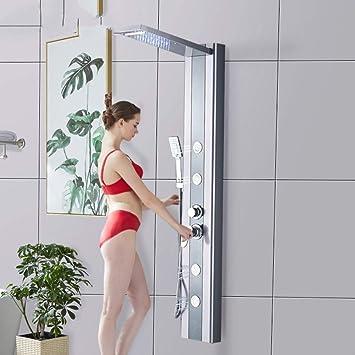 Fácil de instalar Ducha de luz LED Ducha Panel System Columna de ...