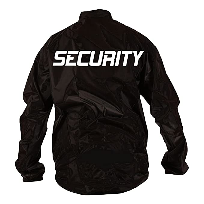 Veste Noir M Imperméable Shirts Security T L Xl S Fun Coole Xxl nWYIqAx