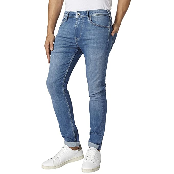 Pepe Jeans - NIKEL Denim - Pantalon Vaquero - Hombre: Amazon ...