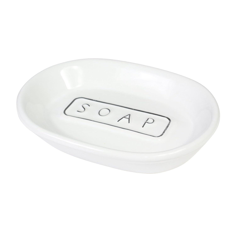 GOLDBEARUK Soap Dish Ceramic Classic Style
