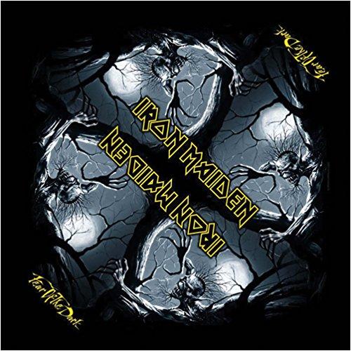Iron Maiden Fear Of The Dark Bandana Black