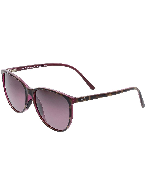 91cd554d28 Amazon.com: Maui Jim Ocean Polarized Sunglasses - Women's Grey Tortoise  Stripe/Neutral Grey One Size: Clothing