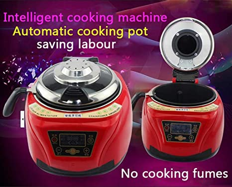 5L Smart Robot Cooker Household All Intelligent Food Cooking Machine Automático Carne Verduras Cocinar Olla (Color : Red): Amazon.es