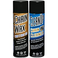 $26 » Maxima Racing Oils MA-BCC-WAX Chain Wax Basic Chain Care Aerosol Combo Kit, 29 fl. oz
