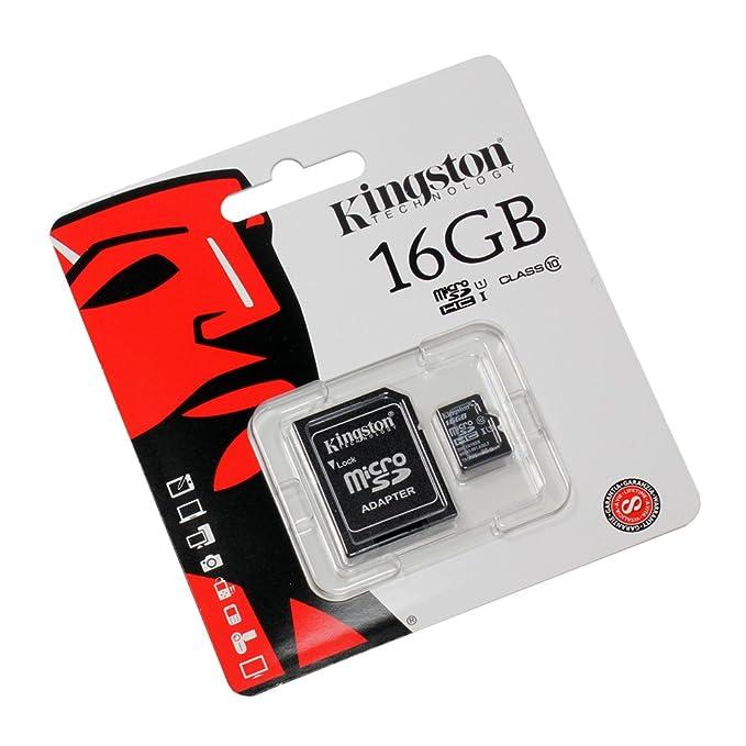 16 GB Tarjeta de Memoria para Huawei Ascend Y550 (Micro SD ...