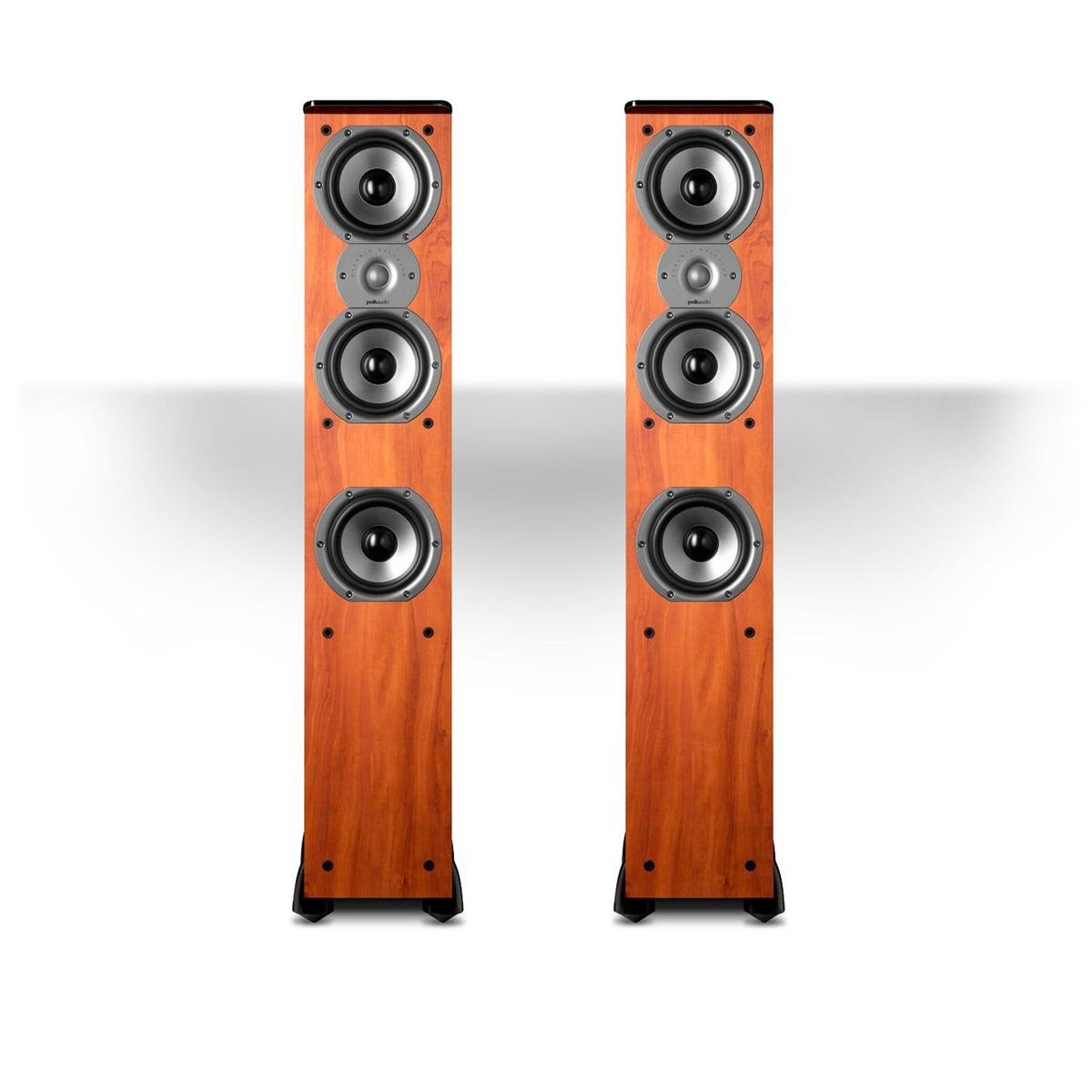 Polk Audio TSi400 Floorstanding Speaker (Cherry Pair) by Polk Audio