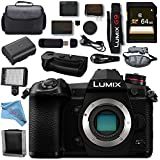 Panasonic Lumix DC- G9 DC-G9KBODY Mirrorless Micro Four Thirds Digital Camera DMW-BGG9 Battery Grip Bundle