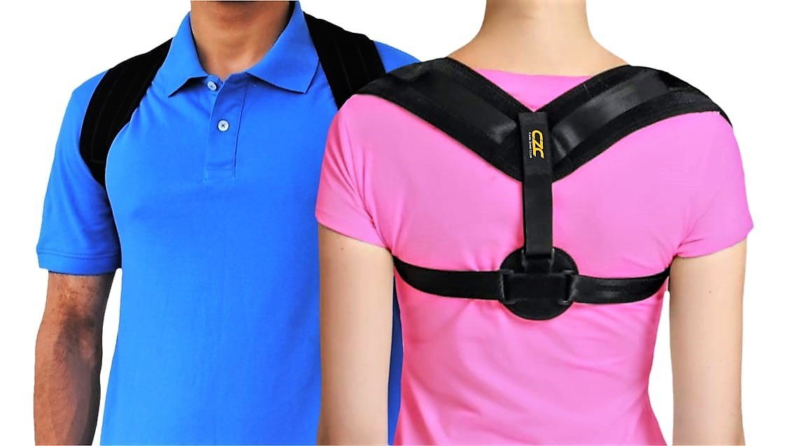 Back Posture Corrector for Women and Men  Back Brace for Posture Correction  Improve Posture by Posture Help  Back and Shoulder Support for Slouch Free Posture  Slouch Corrector with Clavicle Support
