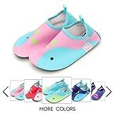 Amazon Price History for:Kids Water Shoes Lightweight Swim Skin Aqua Socks Shoes Slip-on Beach Pool