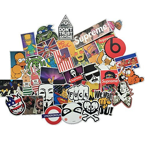 Check Out This Cool Sticker 100pcs Random Music Film Vinyl Skateboard Guitar Travel Case Sticker Doo...