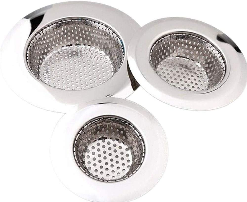 1PC Shower Floor Drain Cover Sink Strainer Bathroom Plug Trap Water Drain Filter
