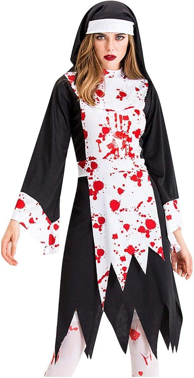 Goosun Halloween Vampire Queen Vestido De Manga 3/4 Estampado De ...