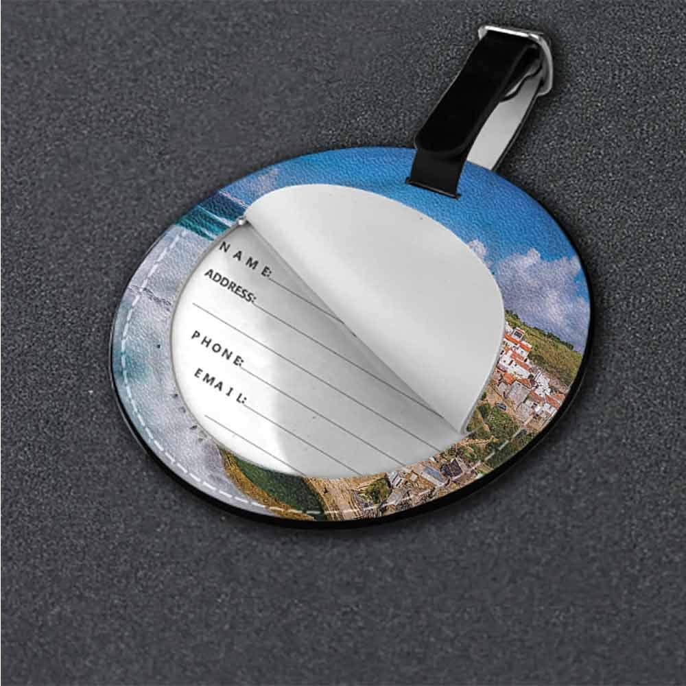 Women Luggage Tag European,Pastoral Czech Republic Label Travel Accessories