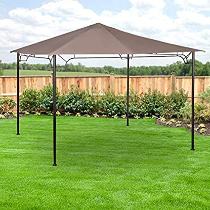 Amazon.com : Replacement Canopy for 10 x 10 Accented Frame Gazebo ...