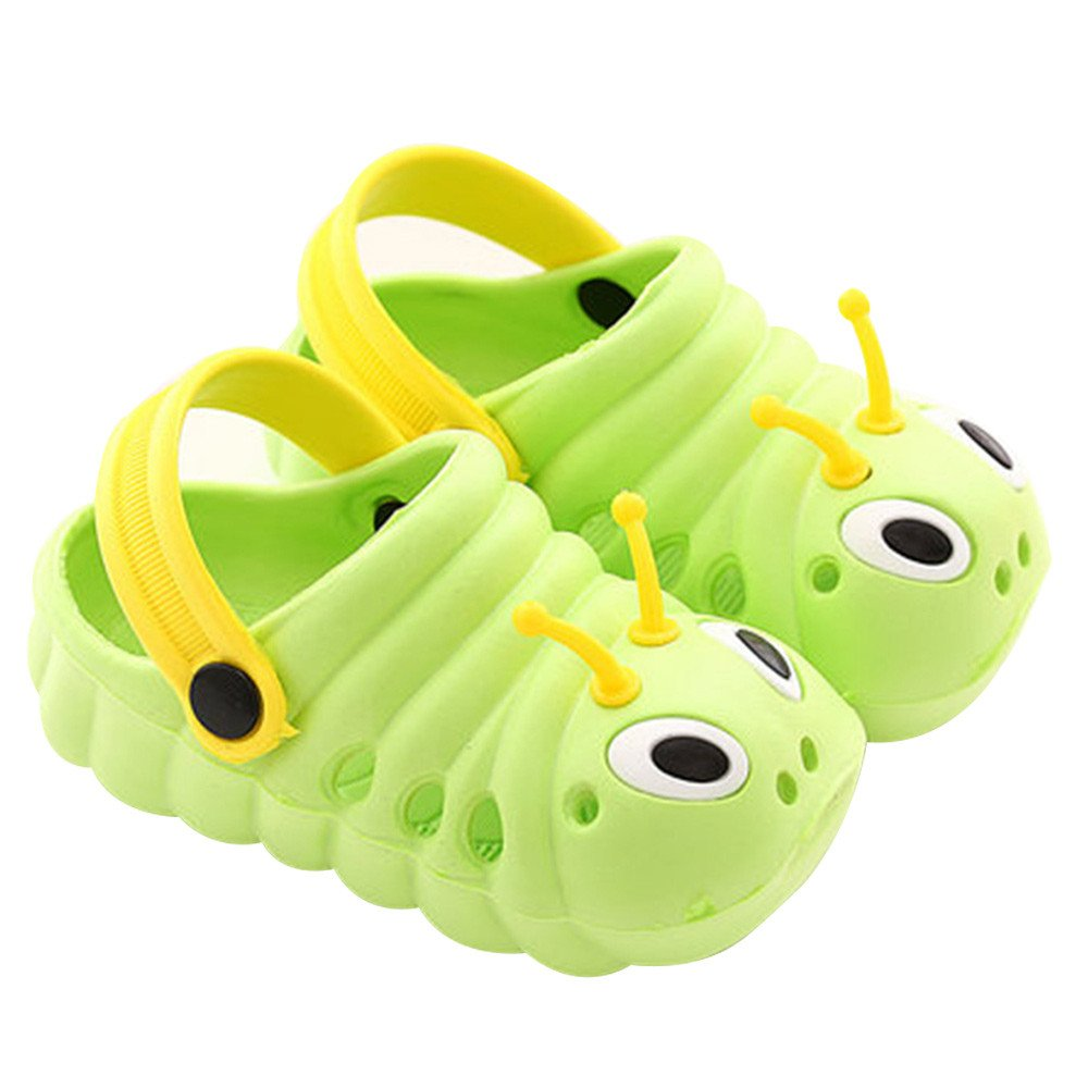 e36c3fbafa329a DADAZE Unisex Kids Clogs Mules Beach Slipper Cartooon Slip-on Sandals  Summer for Boys Girls UK3-10.5