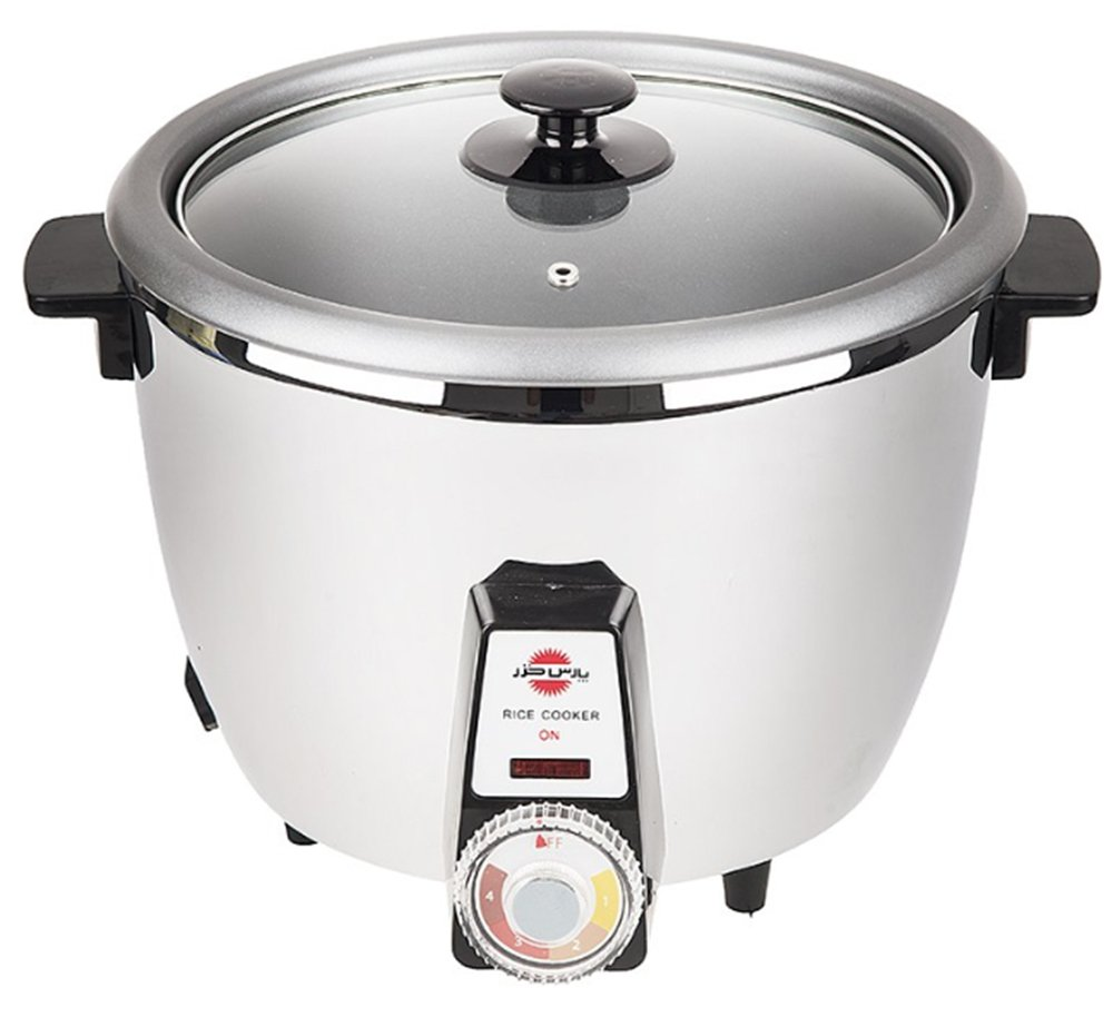 PARS KHAZAR Automatic Persian Rice Cooker 12 Cups