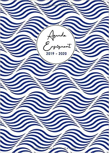 Agenda Enseignant 2019 - 2020: Grand Format A4   Carnet de ...