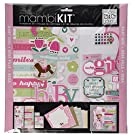 me & my BIG ideas Scrapbook Page Kit, Sweet Girl, 12-Inch by 12-Inch