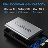 INIU Power Bank, [UPGRADE] 10000mAh Dual 3A