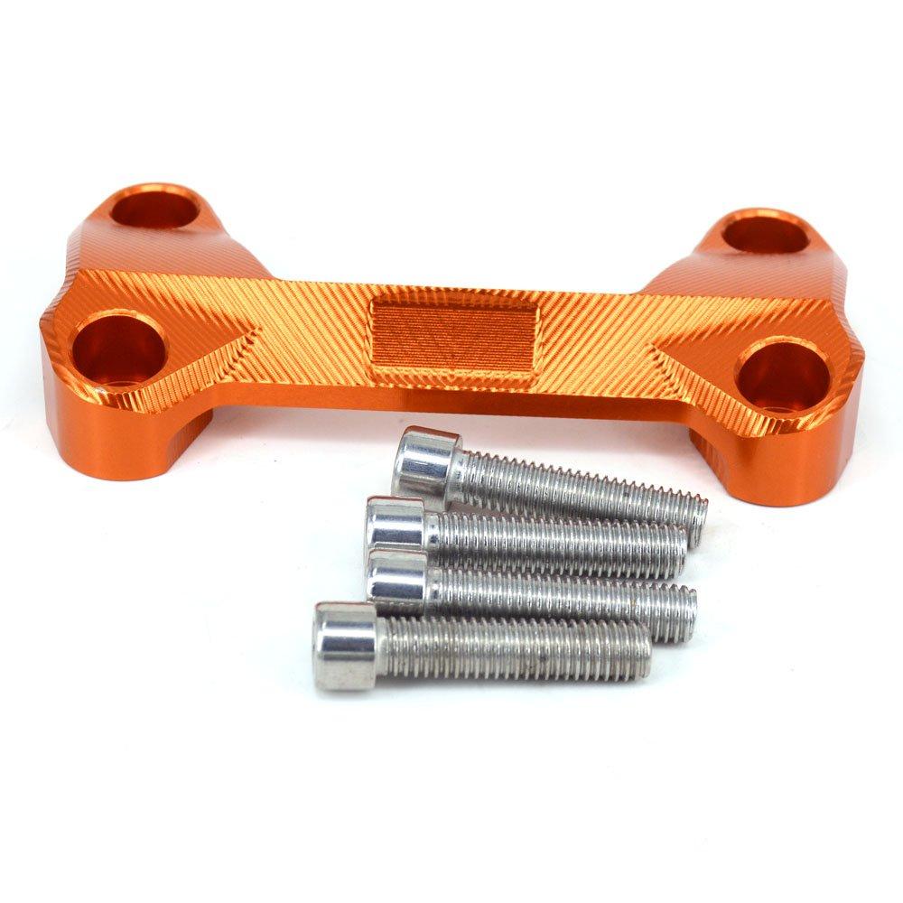 Moto CNC 21 mm Manillar superior Soporte de la barra estabilizadora para KTM 125-530 Sx Sx-F Exc Xc-W Xcf-W Exc-F 00-16