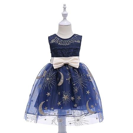 Peggy Gu Vestido Flash Vestido de niña Vestido de Encaje ...