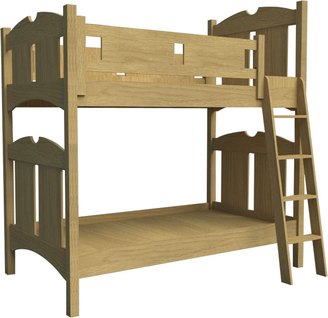 Construye tu propia litera de madera con planes de escalera DIY muebles de dormitorio carpintería: Amazon.es: Juguetes y juegos