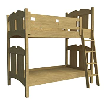 Erstellen Sie Ihre Eigenen Holz Etagenbett W Leiter Plane Diy