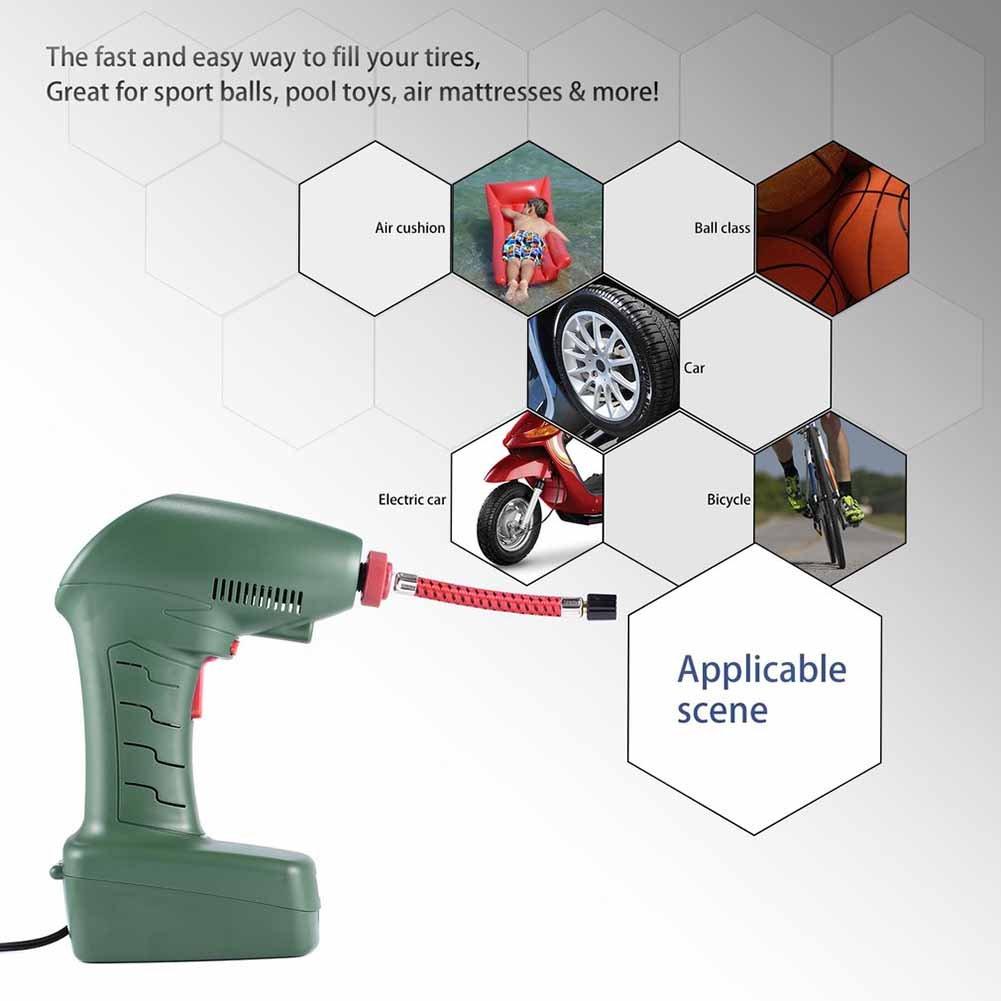 Compresor de aire tipo puntero de plástico eléctrico ...