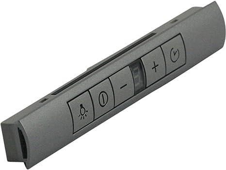 Unidad de control Botones Módulo Plata Campana Bosch, Siemens, Neff 498326 00498326: Amazon.es: Grandes electrodomésticos
