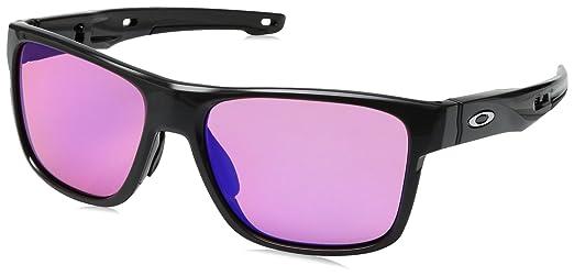 38ae8f2700879 Oakley CROSSRANGE OO9361 03 Cinza Lente Rosa Prizm Trail Tam 57 ...