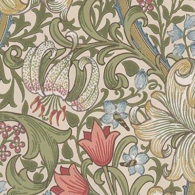 William Morris Golden Lily Wallpaper 210398