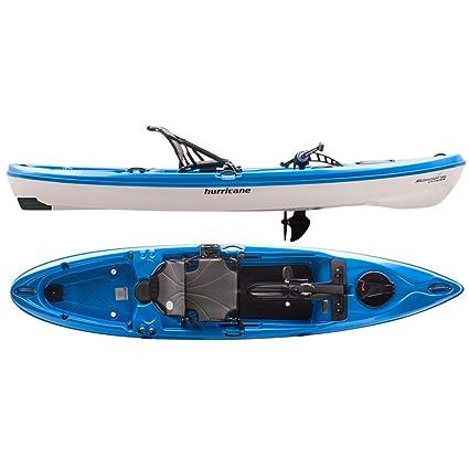 Amazon Com Hurricane Skimmer 120 Propel Sit On Top Kayak