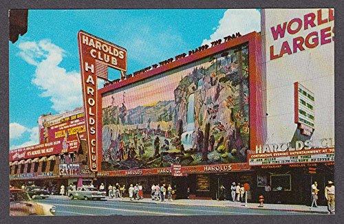 (Harolds Club Casino Reno NV postcard 1950s)