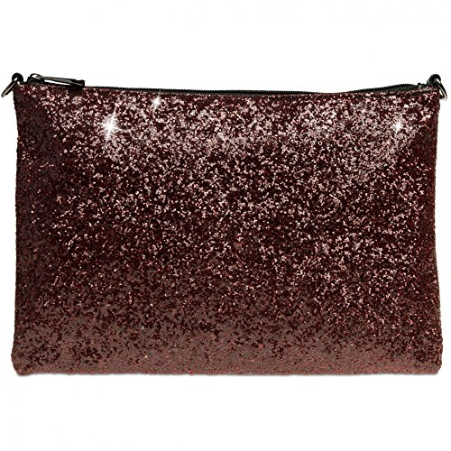 Clutch Large TA341 Red Large TA341 Clutch Women Women CASPAR TA341 CASPAR Large Red Wine Women Wine CASPAR ECT4qwF